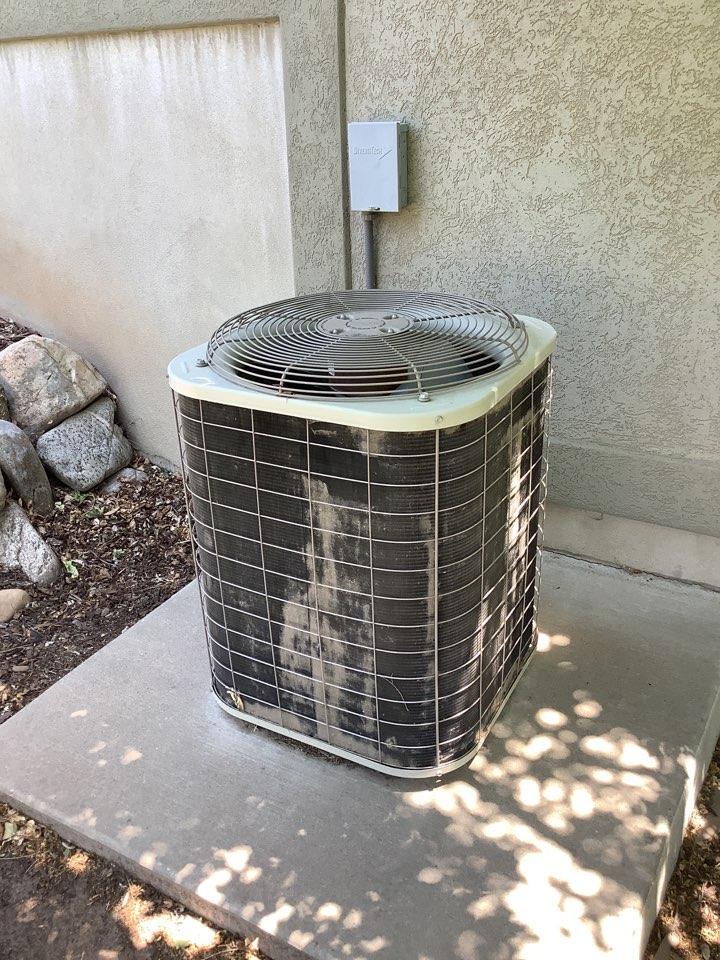 South Weber, UT - Replacing trane air conditioner