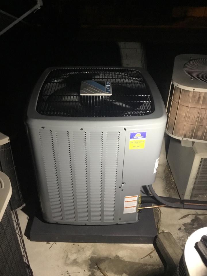 Murray, UT - Installed new daikin 16seer central air conditioning