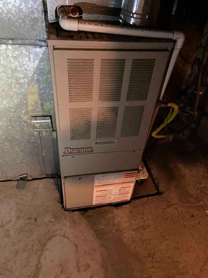 Sandy, UT - Repair broken Ducane furnace.