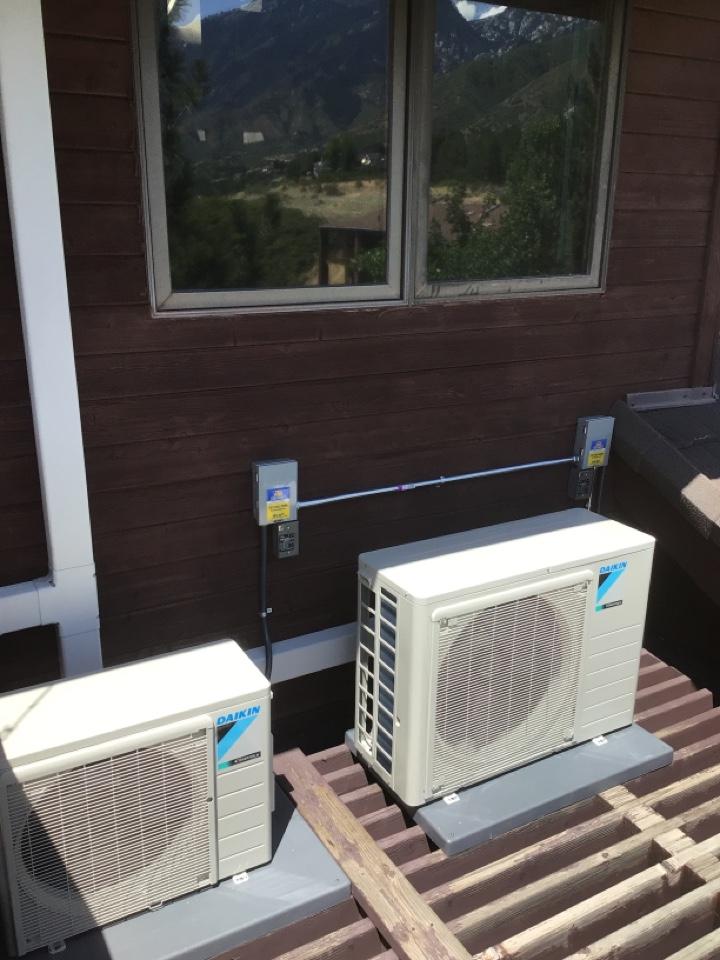Cottonwood Heights, UT - Install two new Dakin mini split systems