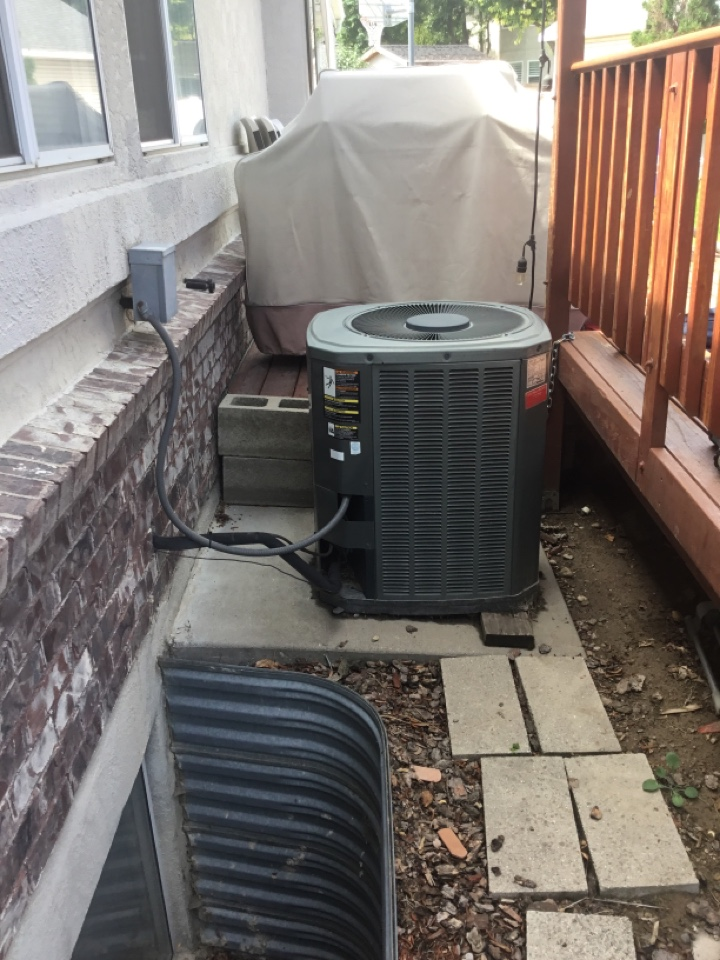 Murray, UT - Remove trane central air conditioning