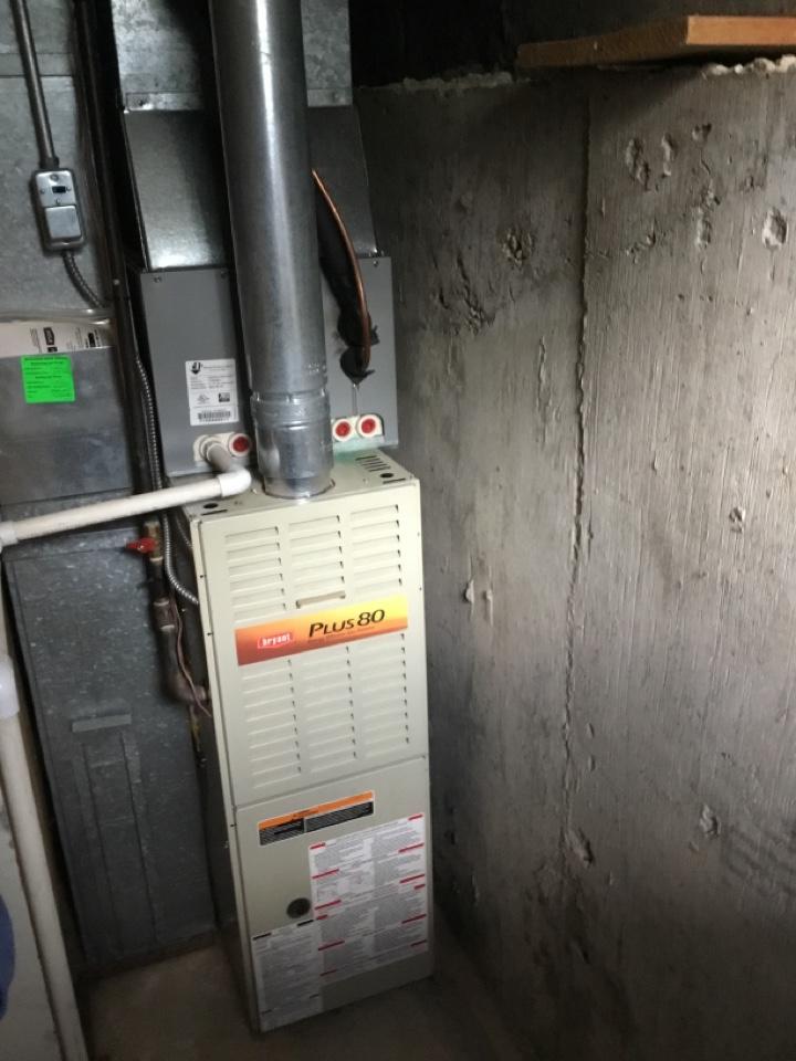 Ogden, UT - Remove old furnace