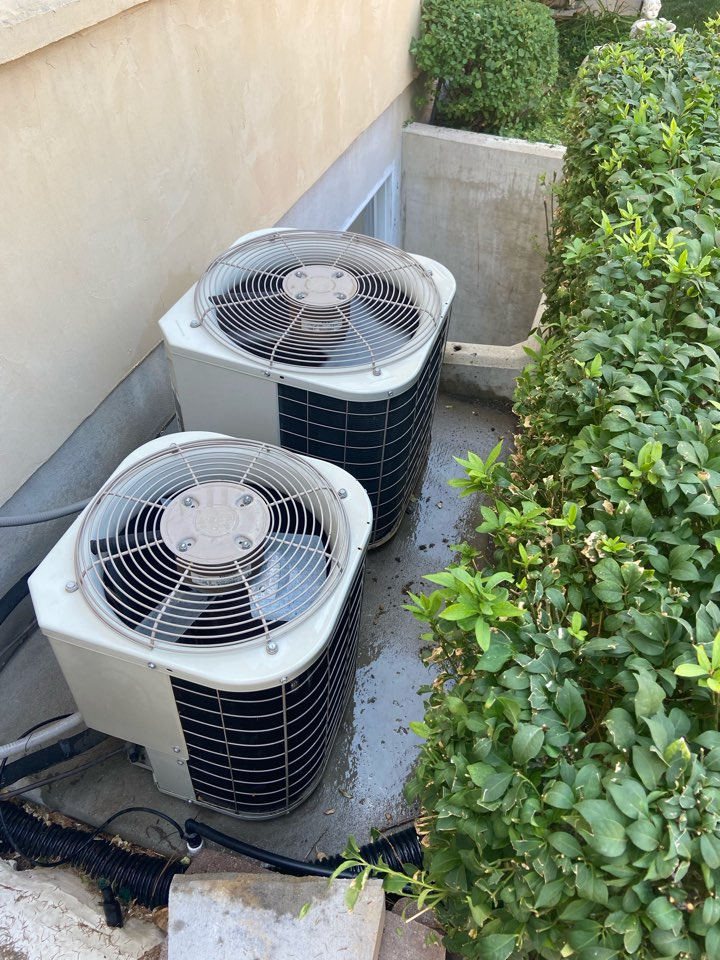 Cottonwood Heights, UT - Repair broken Bryant ac with a Honeywell thermostat.