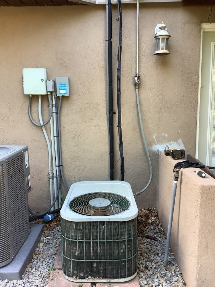 Farmington, UT - Removed existing central air conditioning system