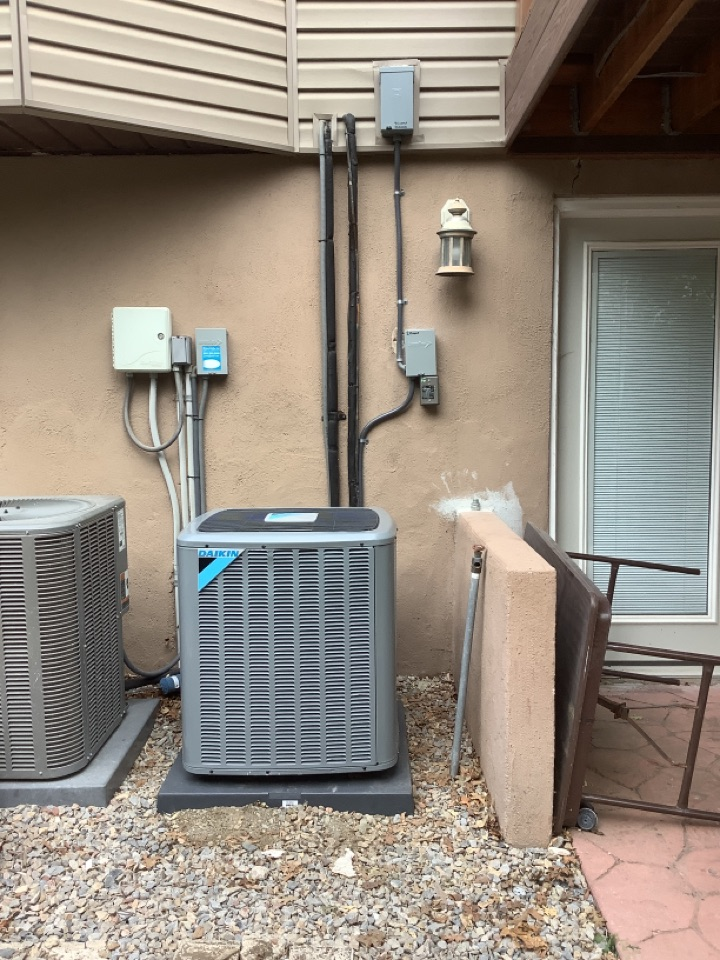 Farmington, UT - Installed a daikin two stage central air conditioning system