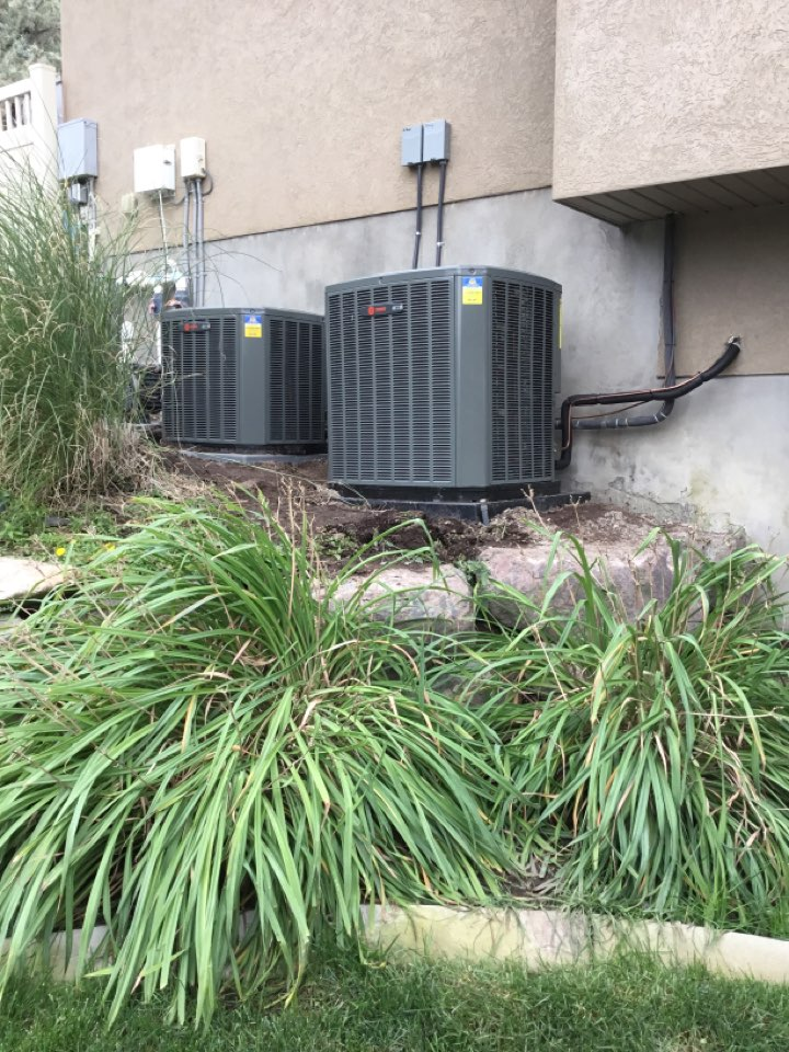 Bluffdale, UT - Install new ac's
