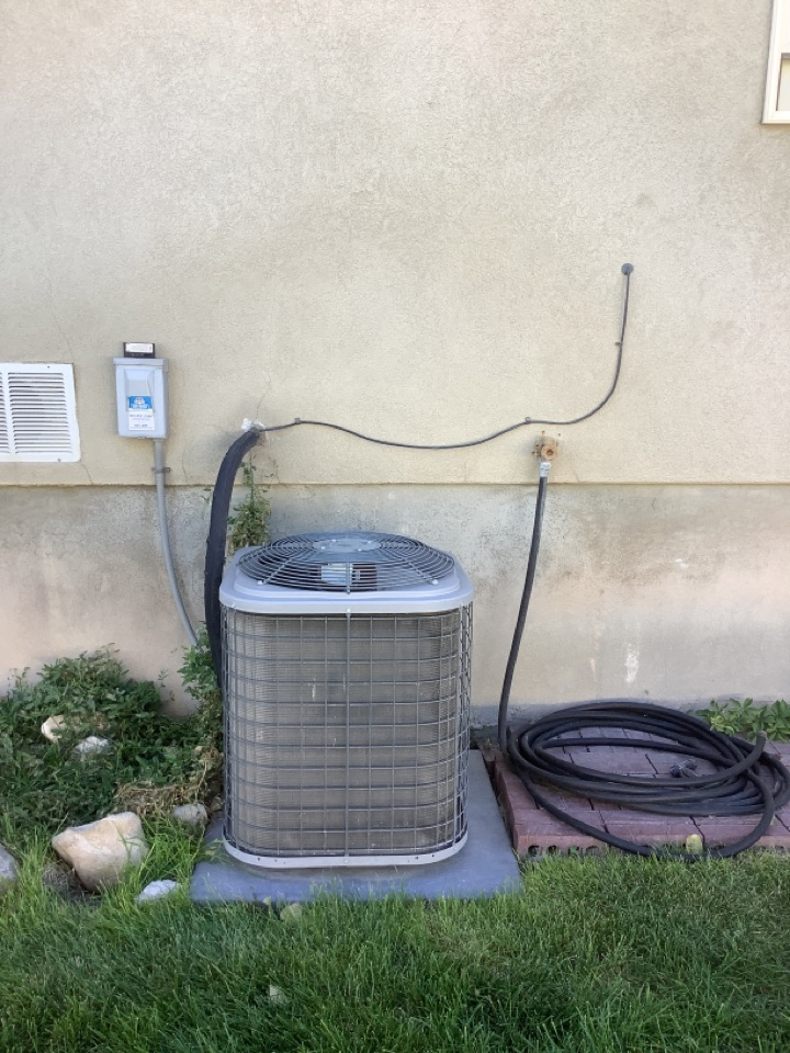 Magna, UT - Removed existing central air conditioning system