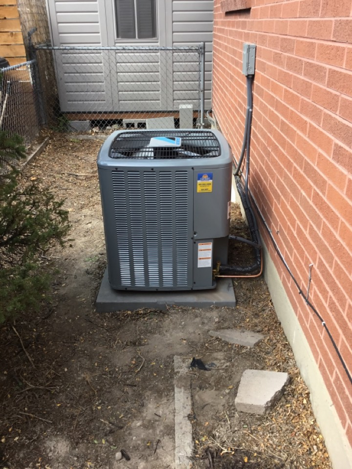 Millcreek, UT - Install new daikin 16seer central air conditioning