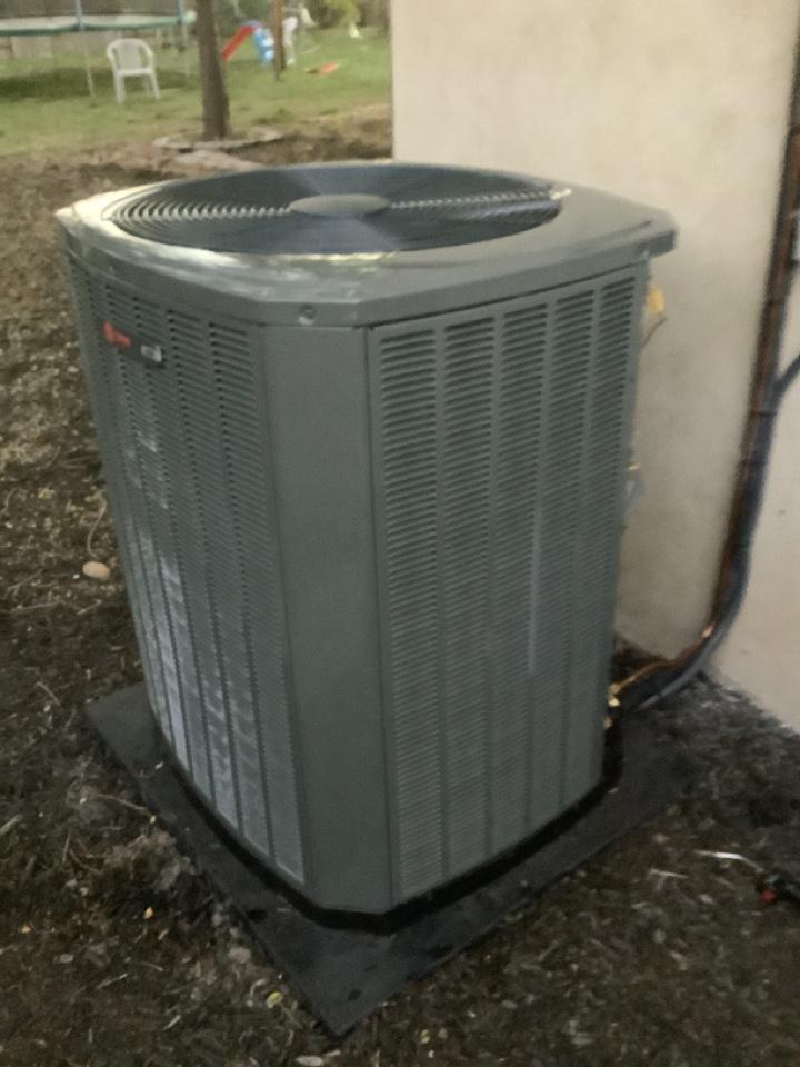 Ogden, UT - Installed new Trane central air conditioning system