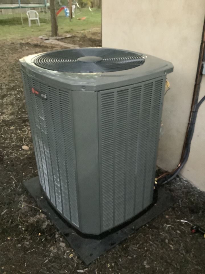 South Salt Lake, UT - Installed a new Trane central air conditioning system