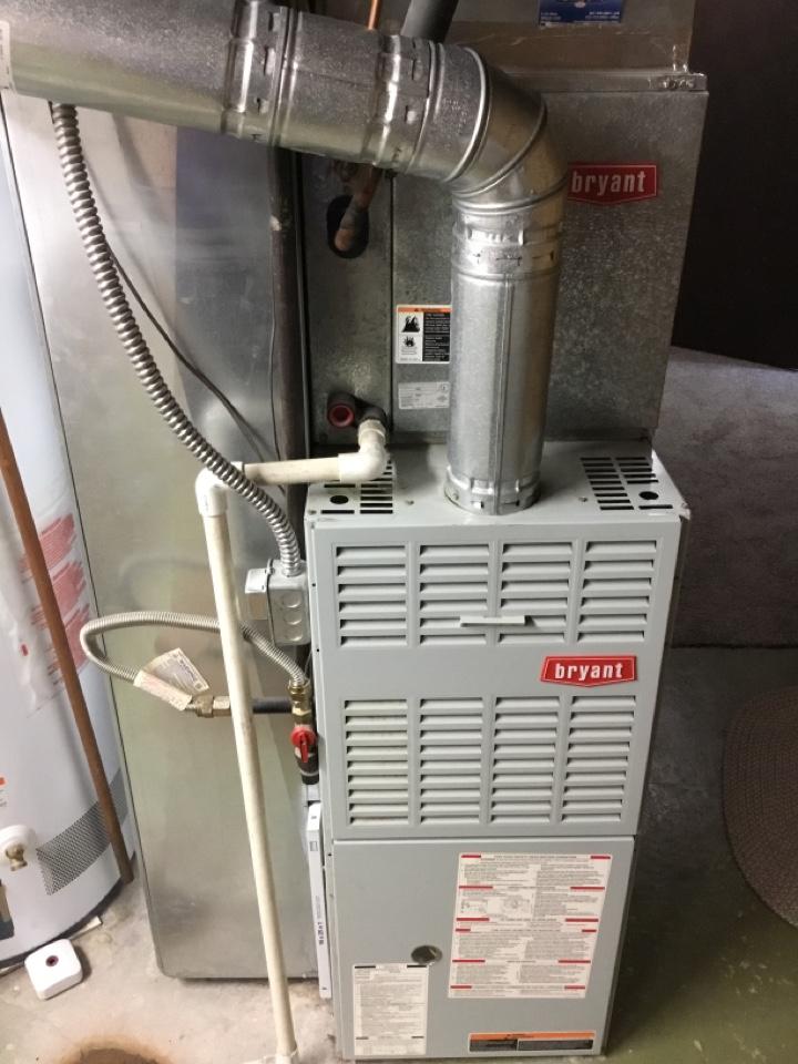 Ogden, UT - Remove Bryant furnace
