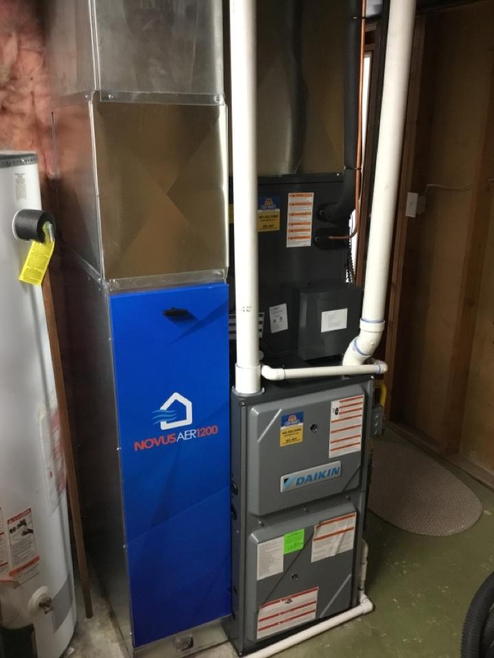 Ogden, UT - Install new high efficiency daikin fit system with new novusaer1200