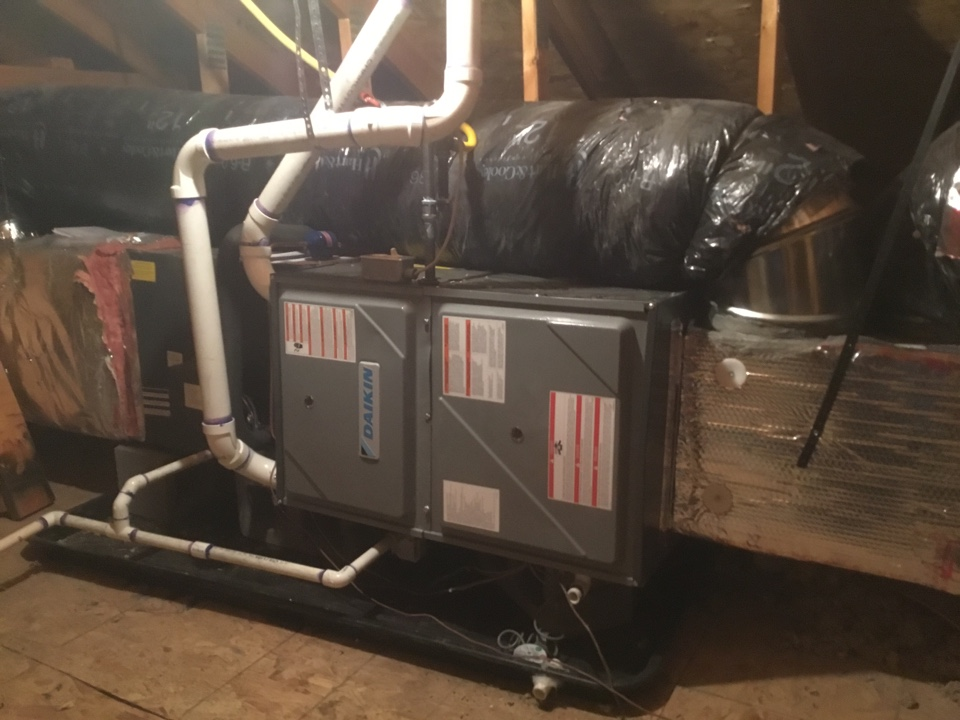North Salt Lake, UT - Installed new 90% daikin fit furnace and coil