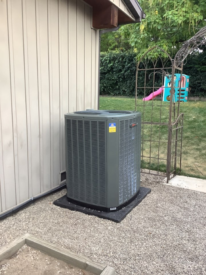 Cottonwood Heights, UT - Installed a new Trane two stag central air conditioning system