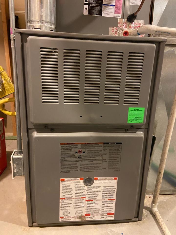 South Jordan, UT - Repair broken Tempstar furnace with a Honeywell thermostat.