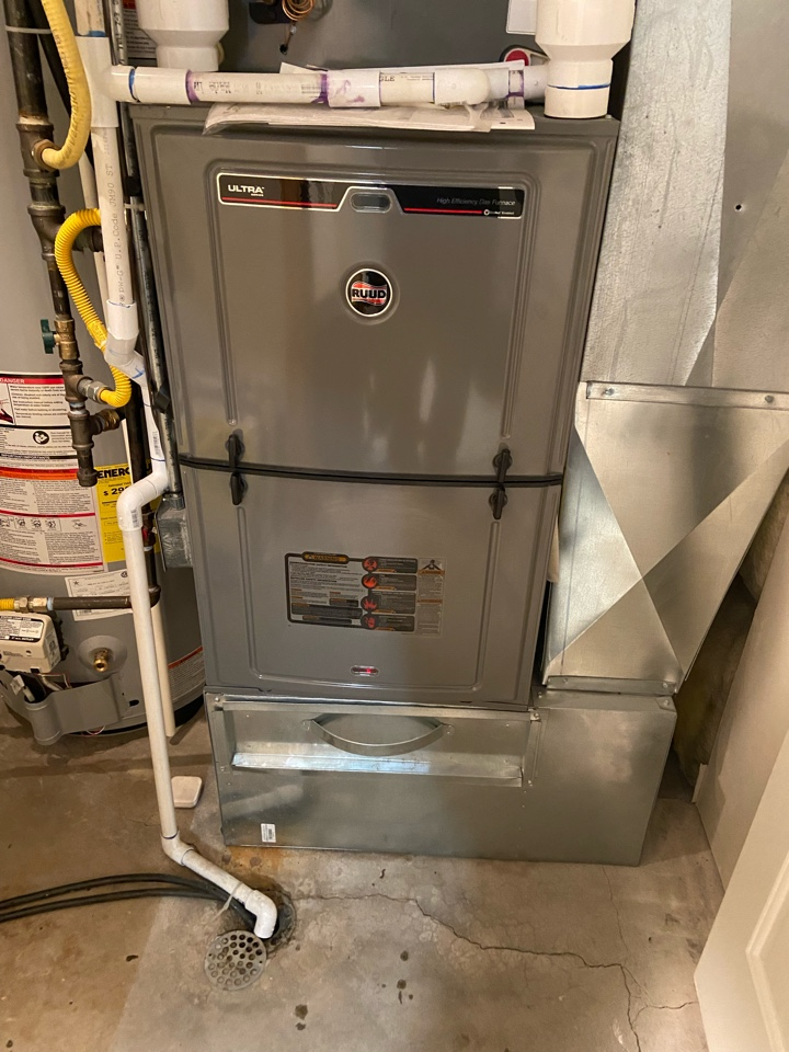 Sandy, UT - Tune up two Ruud furnaces.