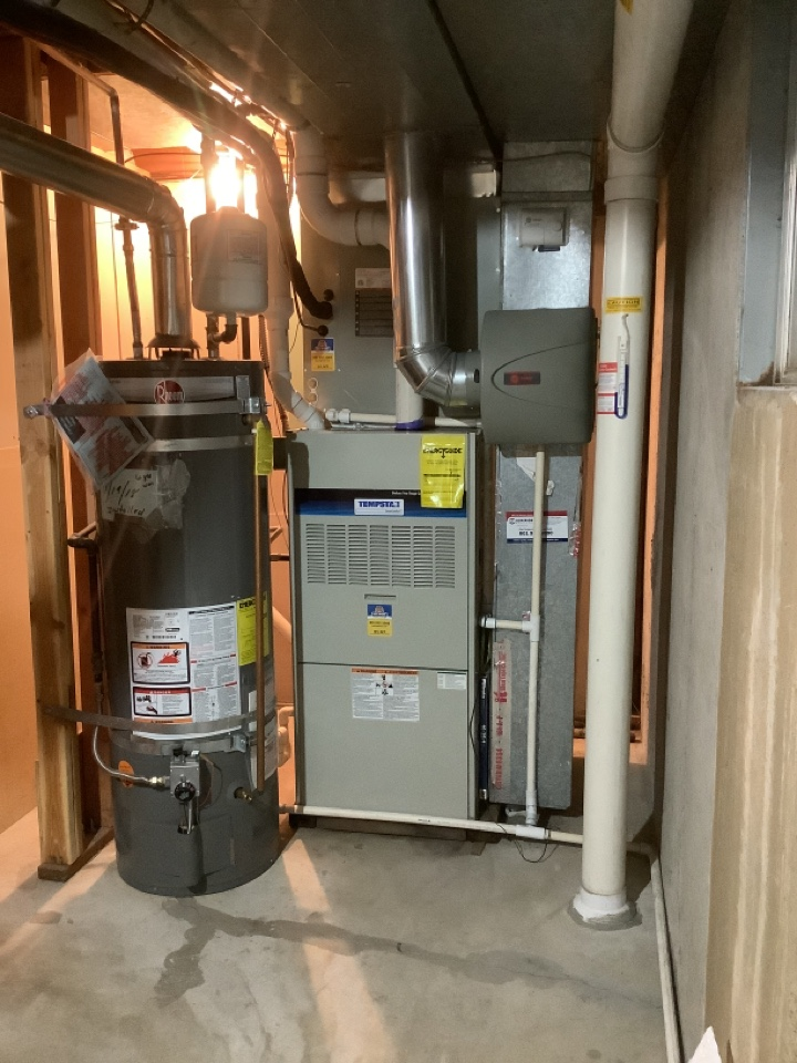 Sandy, UT - Install replace two stage furnace