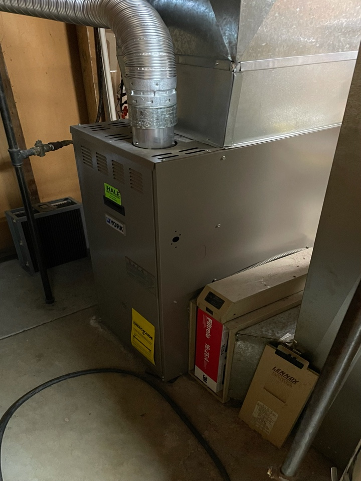 Holladay, UT - Giving an estimate to replace and relocate the furnace. Also replacing the a/c at the same time.