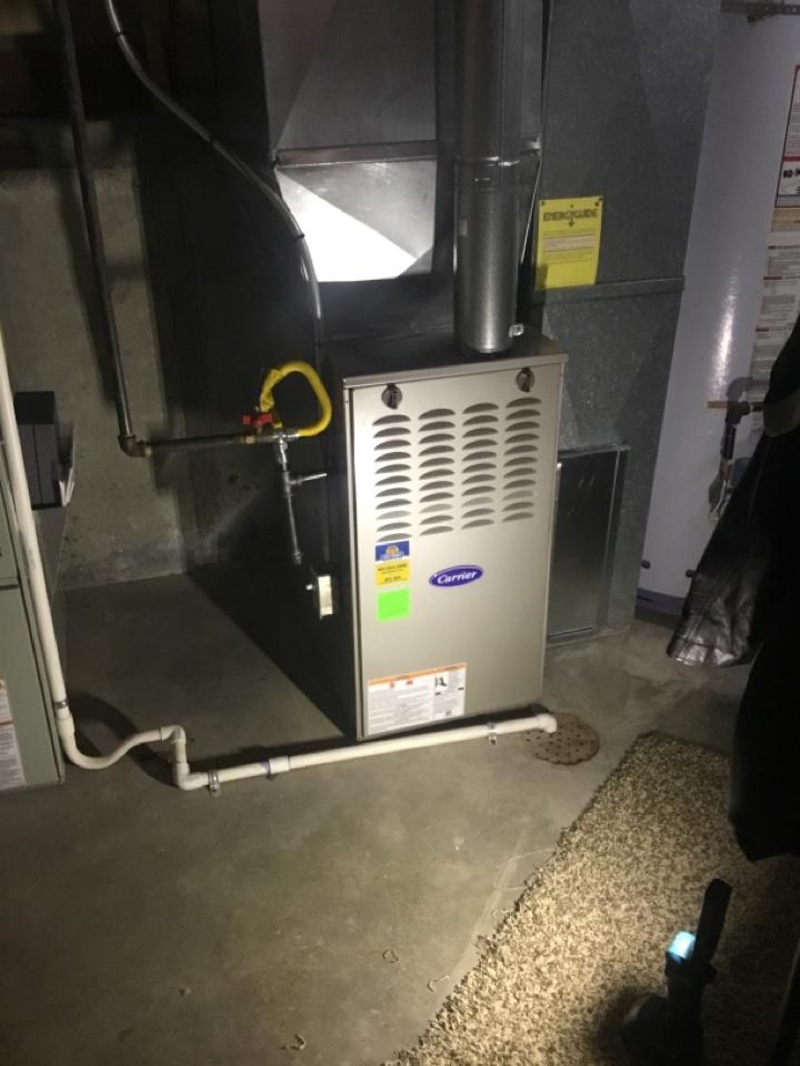 Sandy, UT - Install new carrier furnace