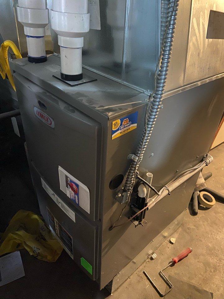 Salt Lake City, UT - Repair broken Lennox furnace with Nest thermostat.