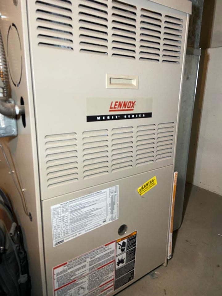 Salt Lake City, UT - Repair broken Lennox furnace.
