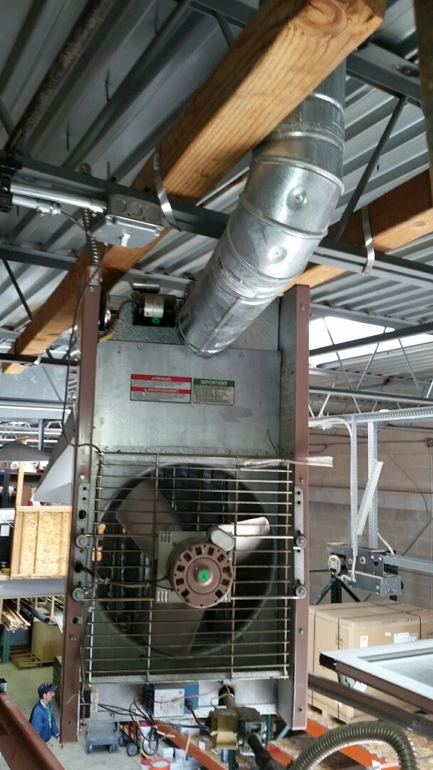 South Salt Lake, UT - Estimate for unit heater
