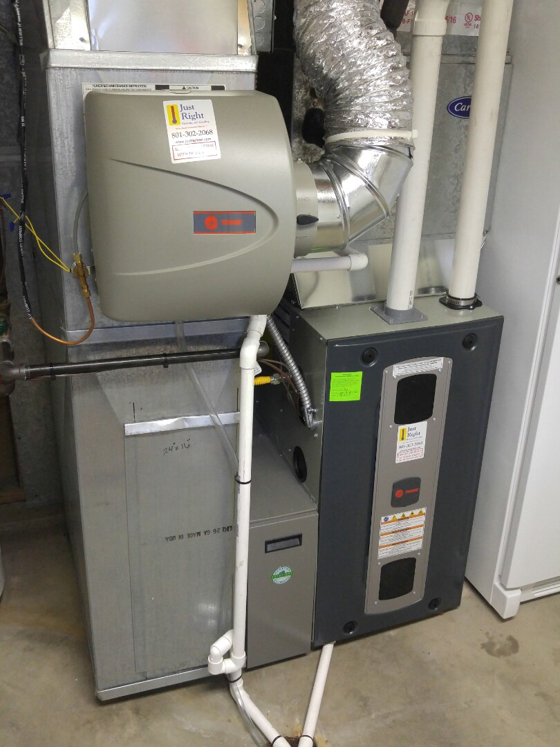 Taylorsville, UT - Replace 80% carrier furnace for new train xv95 furnace