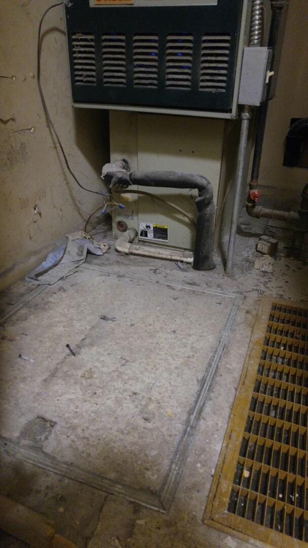 Taylorsville, UT - Removing old air conditioning syatem