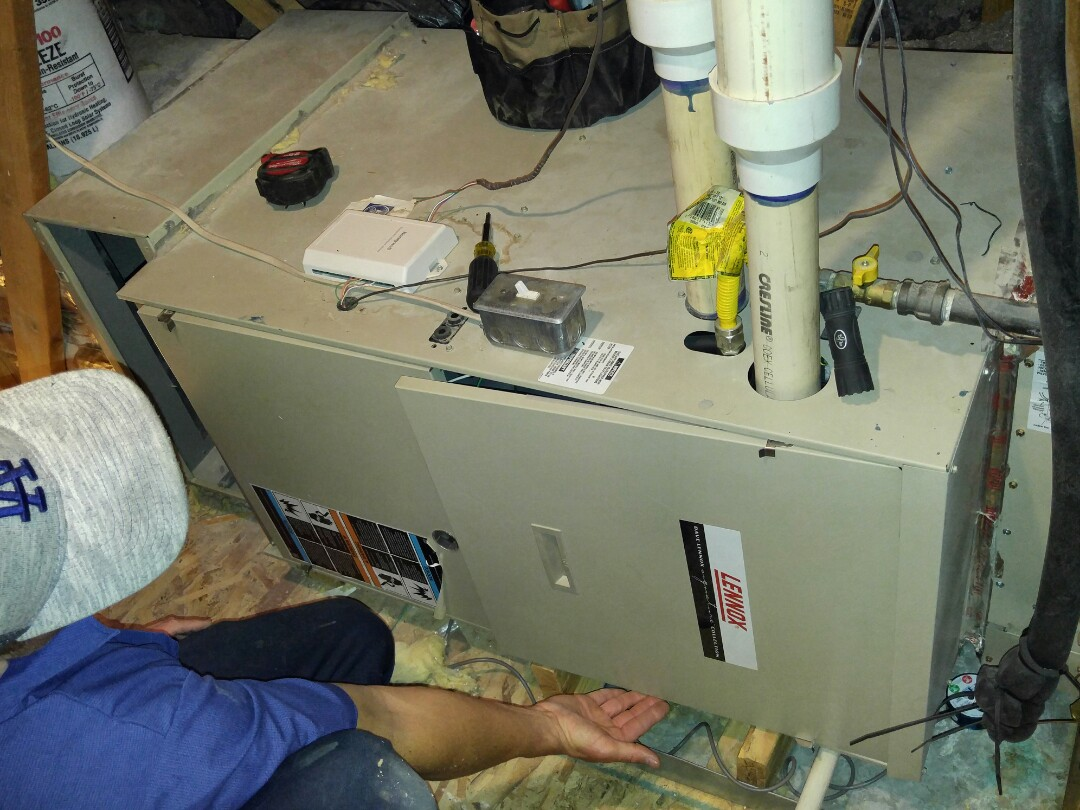 Cottonwood Heights, UT - Replace Lennox furnace with a Trane xv95