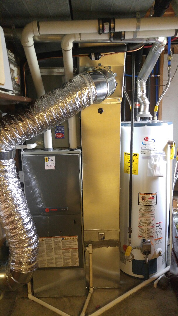 Magna, UT - Installing central air and new high efficiency air cleaner