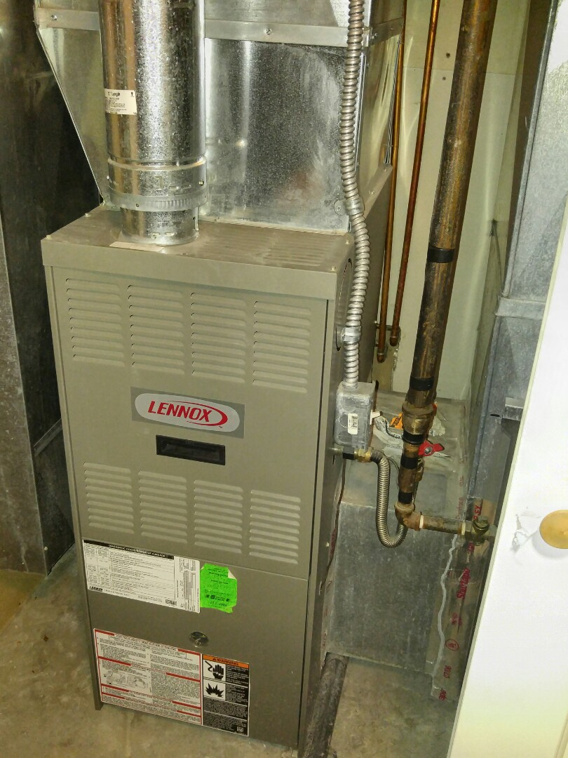 Sandy, UT - Replacing Lennox 80% furnace with trane xv95 furnace and adding Trane 16 Seer air conditioning