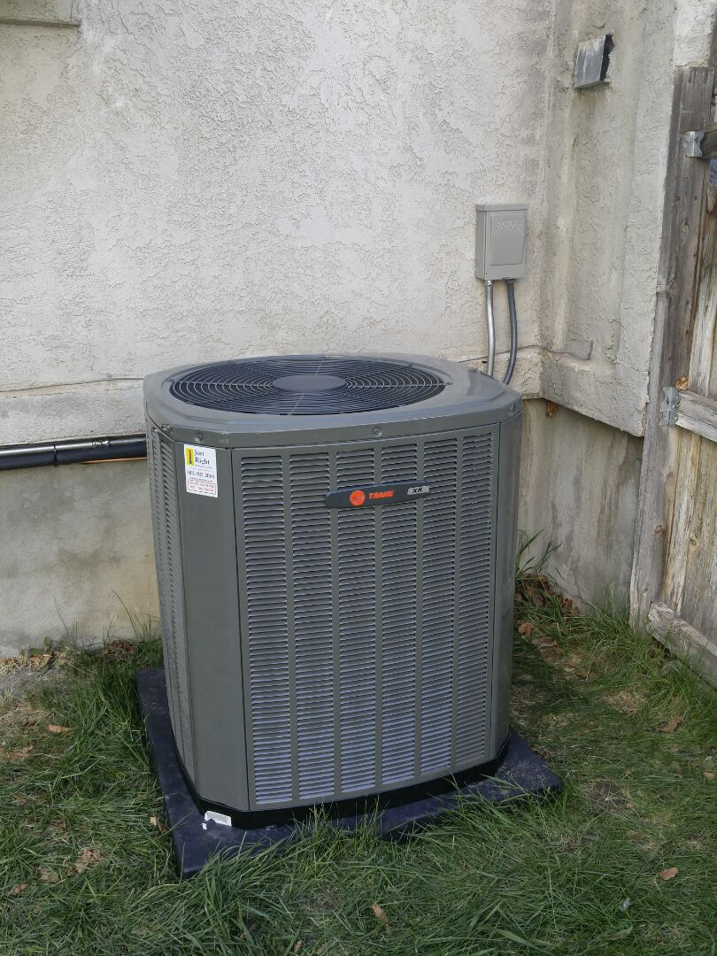 Sandy, UT - Replace Lennox furnace install new Trane furnace and air conditioning