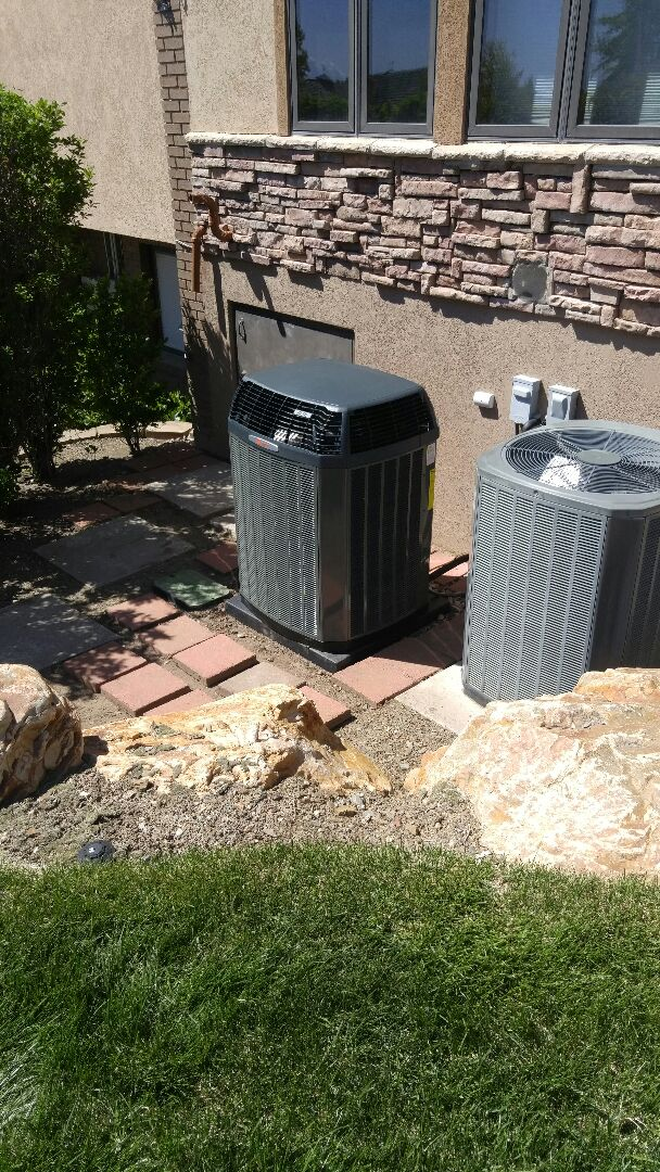 Holladay, UT - Installing new Trane xl18i air conditioner and fixing ductwork