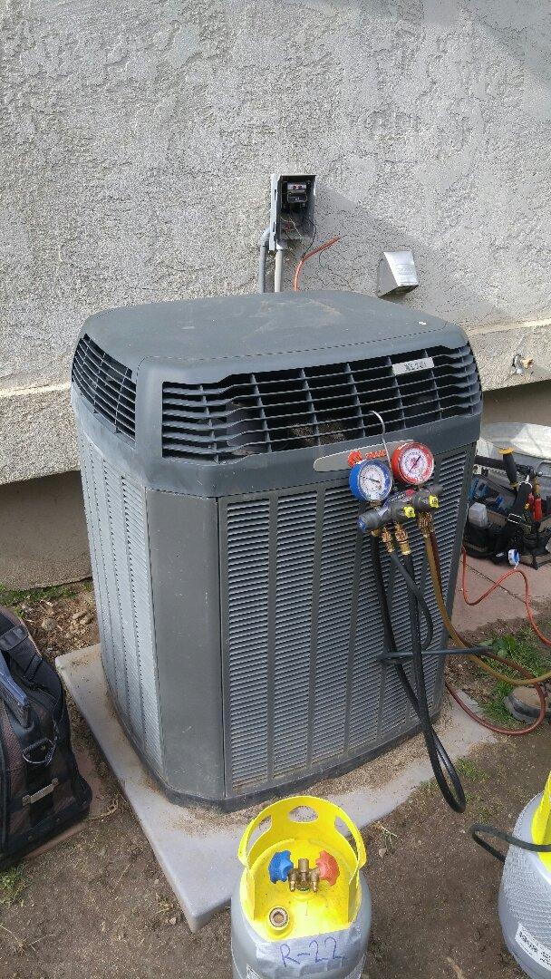 Sandy, UT - Replace Trane xl14i with new Trane xl18i air conditioner