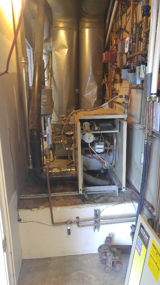 Park City, UT - Replacing old boiler with new viessmann boiler
