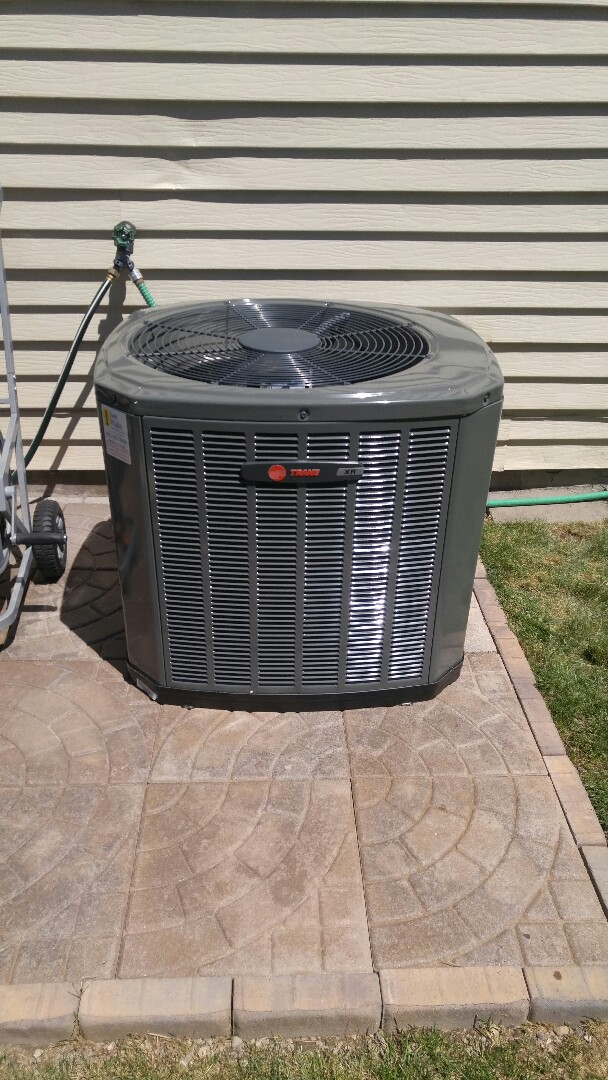 West Valley City, UT - Installed a trane high efficiency central air system