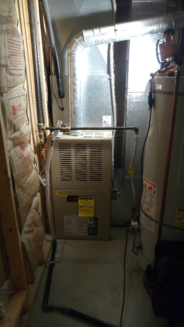 Layton, UT - Replacing Lennox furnace and air conditioner with new Trane xv95 furnace and xr16 AC