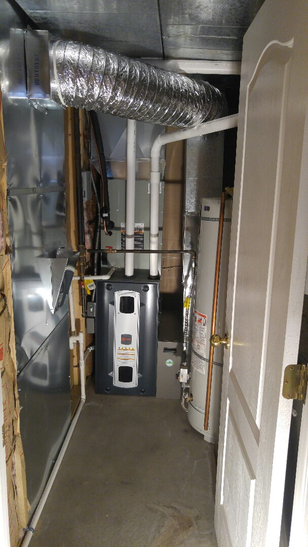 Layton, UT - Replace Lennox furnace and air conditioner with new Trane XR 16 AC and xv95 furnace
