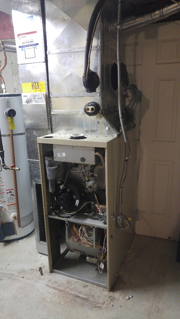 West Valley City, UT - Replace Lennox furnace and air conditioner with new Trane xv95 furnace and xl18i heat pump