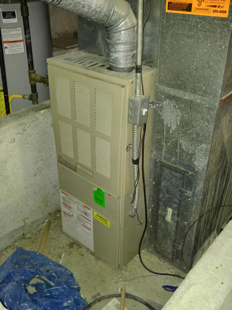Sandy, UT - Replaced Ducane furnace and air conditioner with new Trane xv95 furnace and xl18i AC