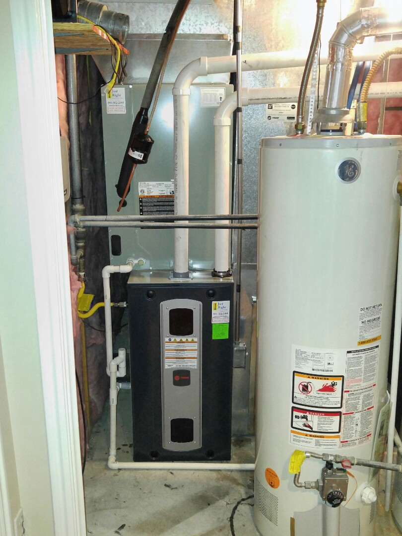 Draper, UT - Replace carrier furnace and AC with new Trane xv95 furnace and xl18i heat pump