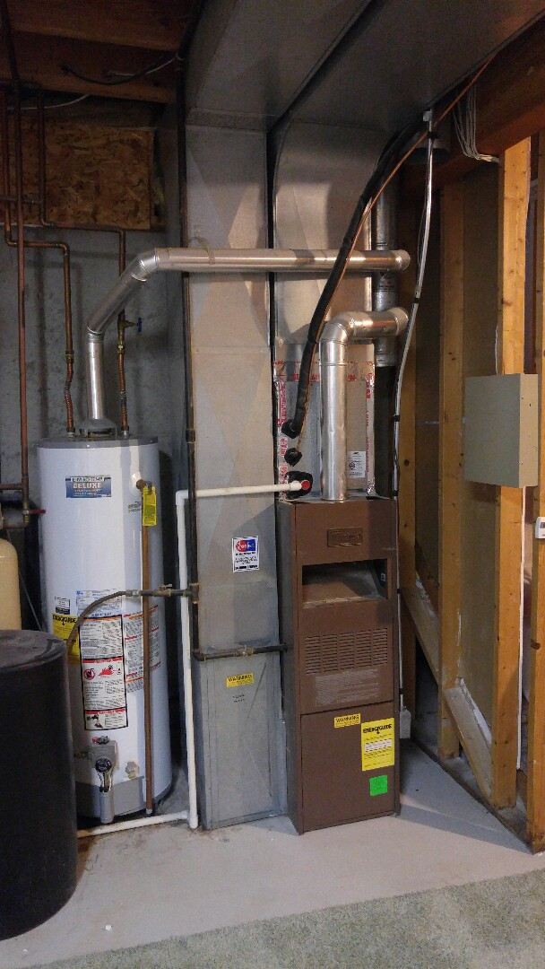West Valley City, UT - Replace Whirlpool furnace and Rheem air conditioner with new Trane xv95 furnace and xr16 AC and Novus air