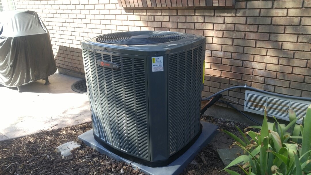 Cottonwood Heights, UT - Installed a Trane high efficiency xr central air system