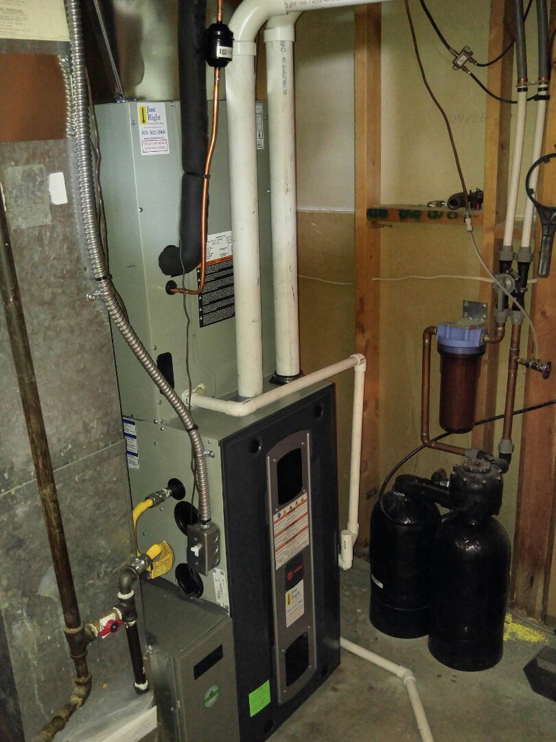 Cottonwood Heights, UT - Replace Trane furnace and AC with new train s9v 2 furnace and xr13 air conditioner