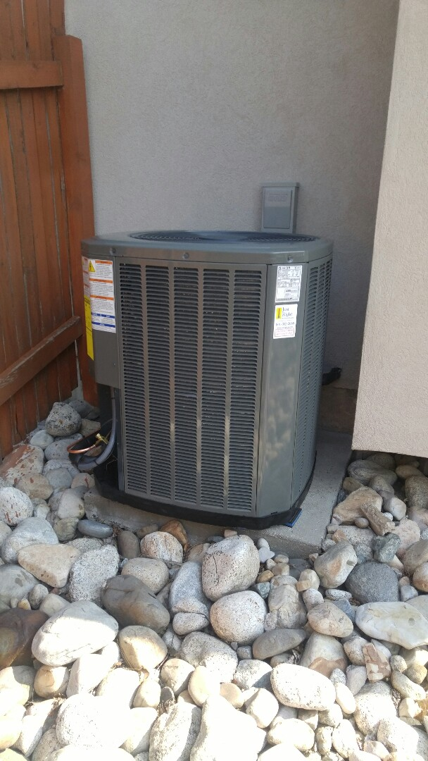 Cottonwood Heights, UT - Installed a Trane XR high efficiency air conditioner