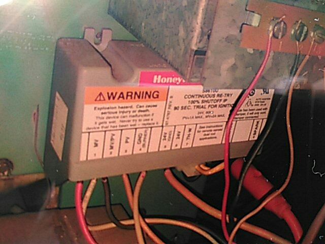 Walnut, CA - Changed out gas valve module controller