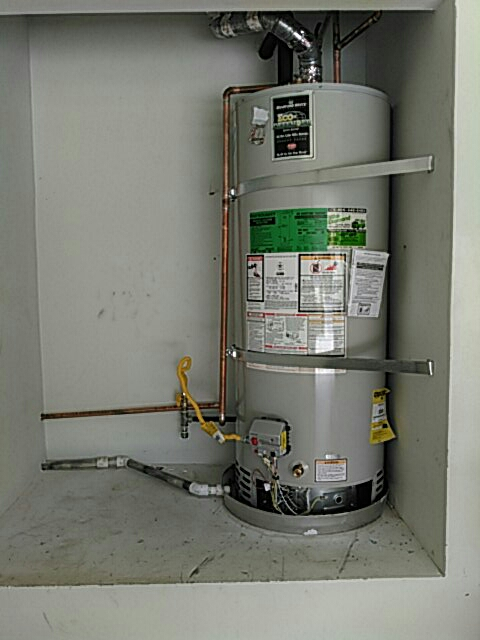 Calabasas, CA - Replaced waterheater