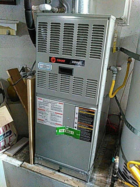 Westminster, CA - Serviced furnace