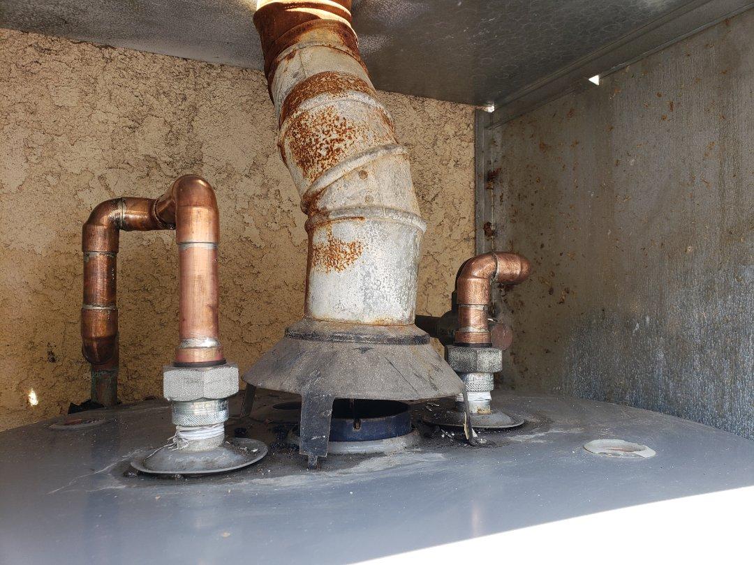 Buena Park, CA - Hard pipe water heater