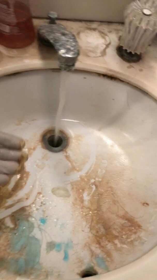 West Covina, CA - Bathroom sink clogged